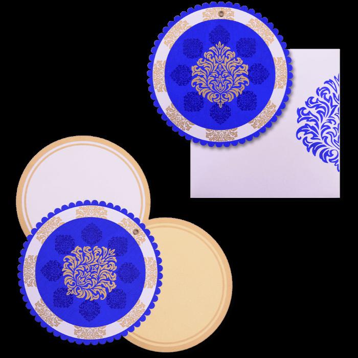 Custom Wedding Cards - CZC-9060BC - 4