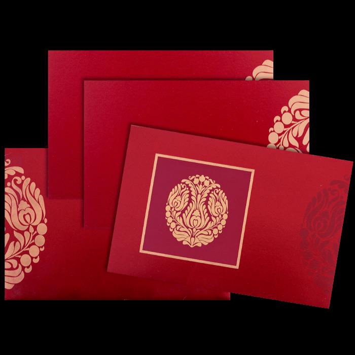 Custom Wedding Cards - CZC-9052W - 4
