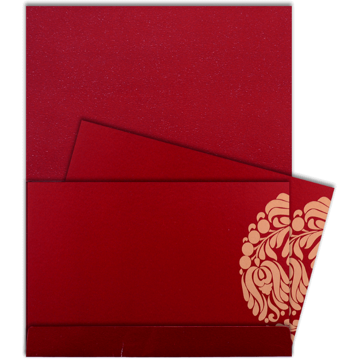 Custom Wedding Cards - CZC-9052W - 5