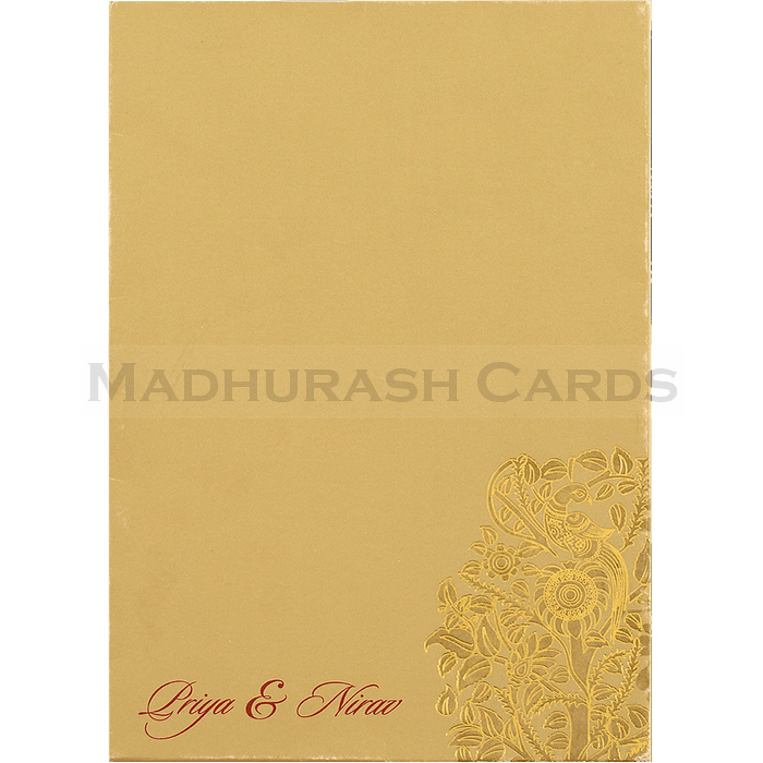 Muslim Wedding Cards - MWC-16069i - 3