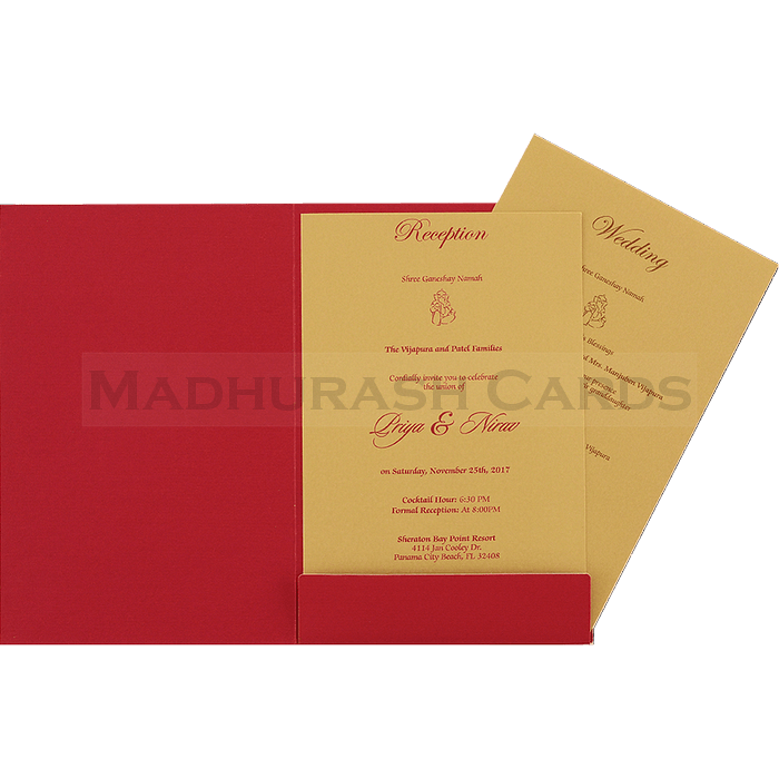 Muslim Wedding Cards - MWC-16069i - 4