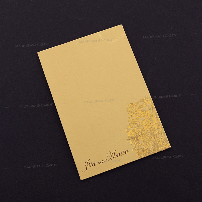 Hindu Wedding Cards - HWC-16069 - 3