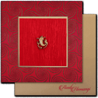 Hindu Wedding Cards - HWC-14035G