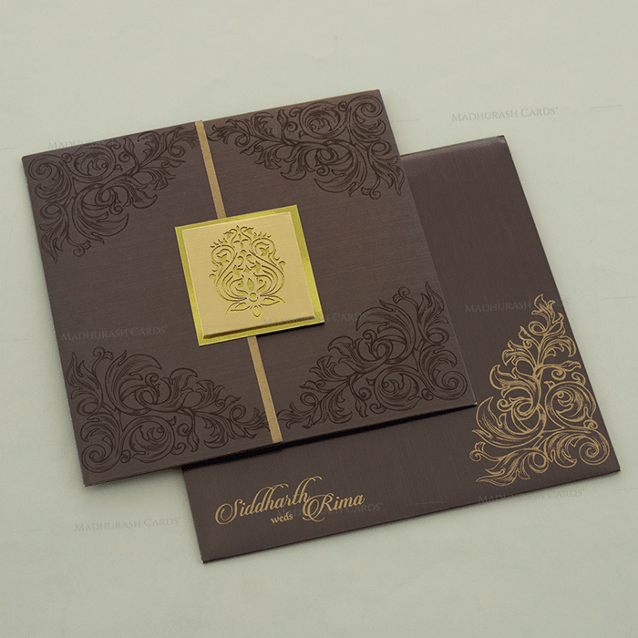 Hindu Wedding Cards - HWC-14100 - 2