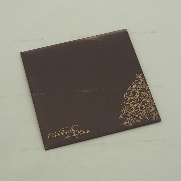 Hindu Wedding Cards - HWC-14100 - 3
