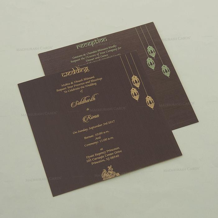 Hindu Wedding Cards - HWC-14100 - 4