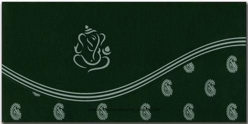 Hindu Wedding Cards - HWC-9092SG