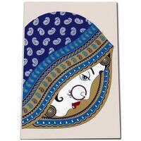Designer Wedding Cards - DWC-9011BLB