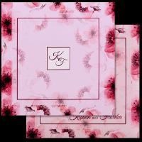 Custom Wedding Cards - CZC-8901