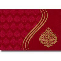 Fabric Wedding Cards - FWI-9027RC