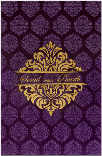 Hindu Wedding Cards - HWC-9024N
