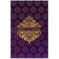 Fabric Wedding Cards - FWI-9024N
