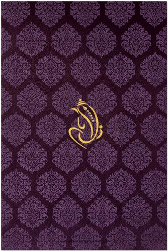 Hindu Wedding Cards - HWC-9024G
