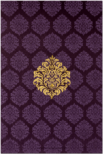 Muslim Wedding Cards - MWC-9024B