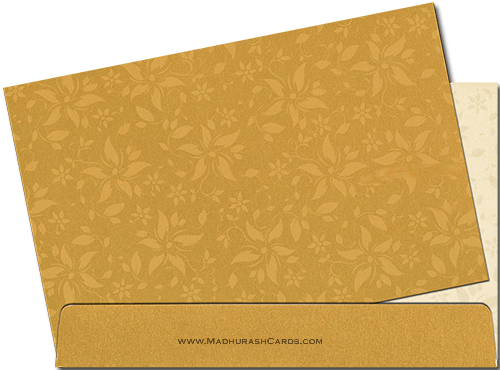 Muslim Wedding Cards - MWC-9025BG - 4