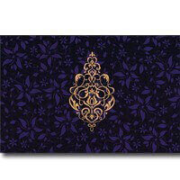 Hindu Wedding Cards - HWC-9025BG
