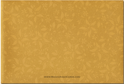 Hindu Wedding Cards - HWC-9025BG - 3