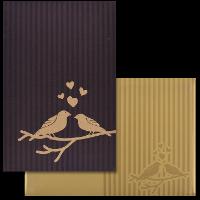 Christian Wedding Cards - CWI-9102BRG