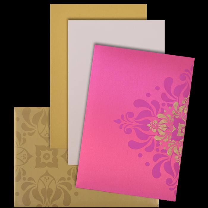 Muslim Wedding Cards - MWC-9103PG - 4