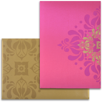 Fabric Wedding Cards - FWI-9103PG
