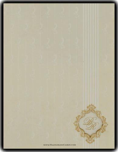 Muslim Wedding Cards - MWC-9046CC