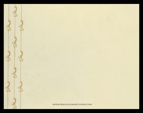 Hindu Wedding Cards - HWC-9046CC - 3