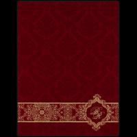 Muslim Wedding Cards - MWC-9044RC