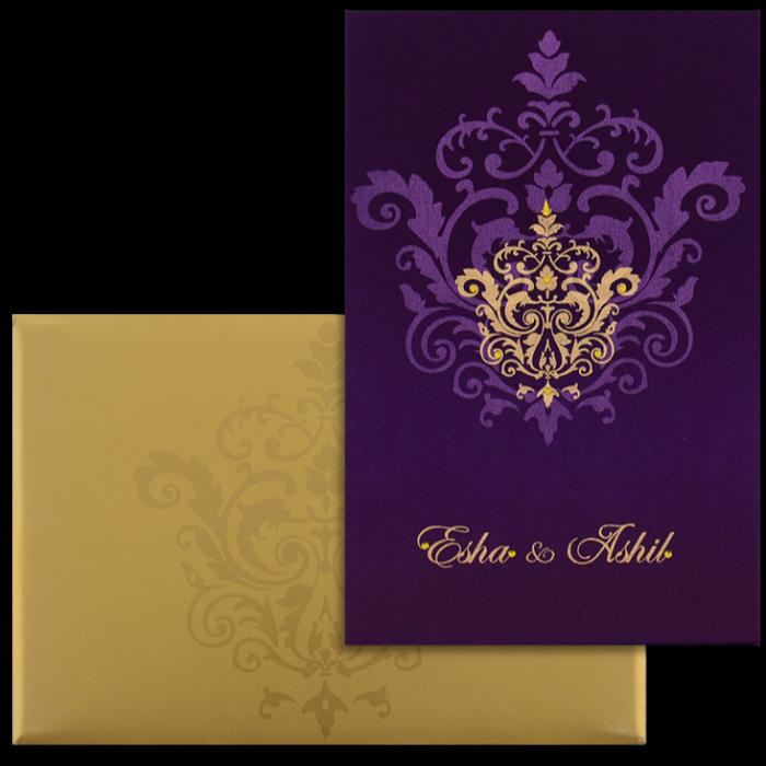 Hindu Wedding Cards - HWC-9104VG