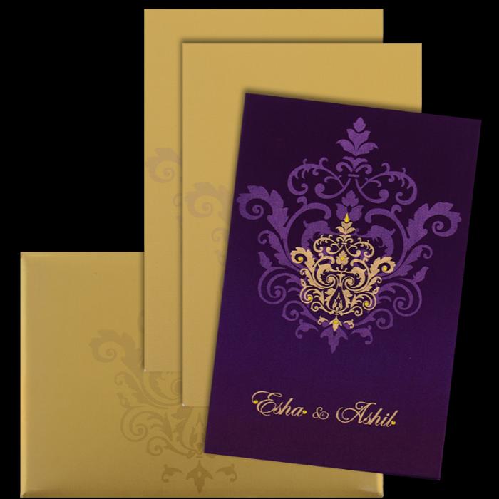Hindu Wedding Cards - HWC-9104VG - 4