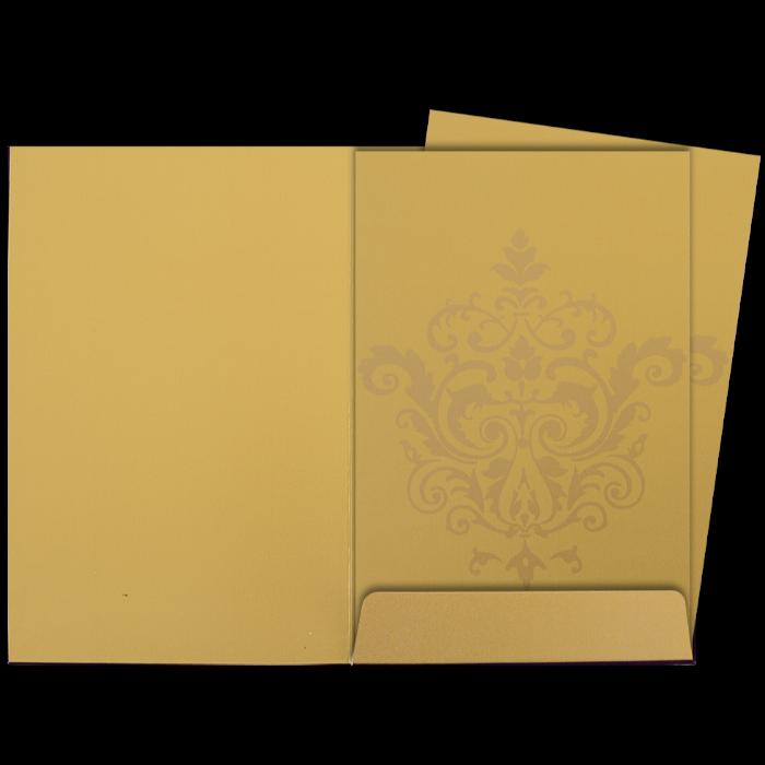 Hindu Wedding Cards - HWC-9104VG - 5
