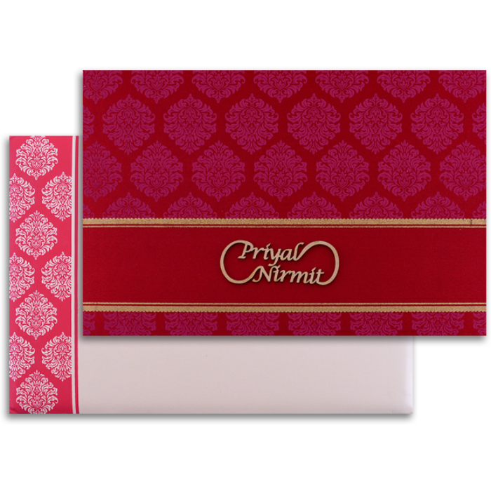 Muslim Wedding Cards - MWC-9035RC