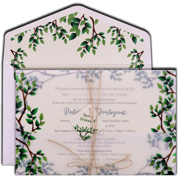 Custom Wedding Cards - CZC-9484 - 2