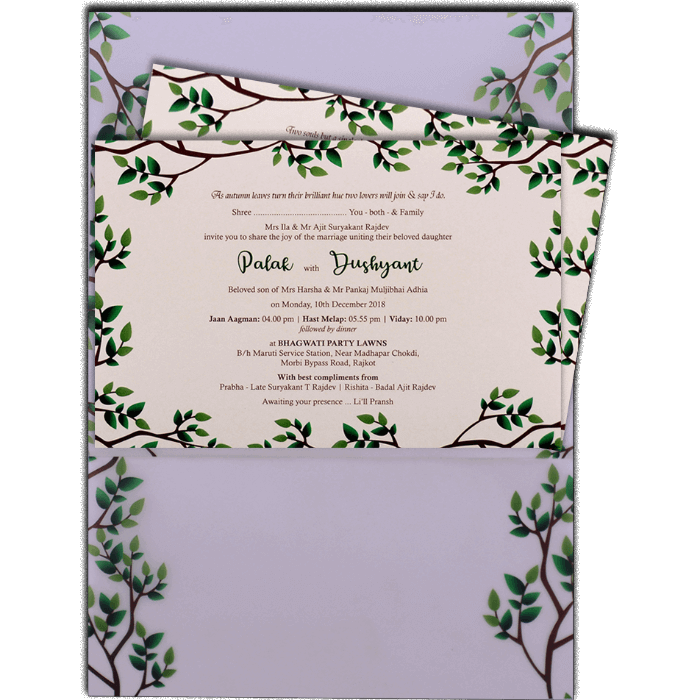 Custom Wedding Cards - CZC-9484 - 3
