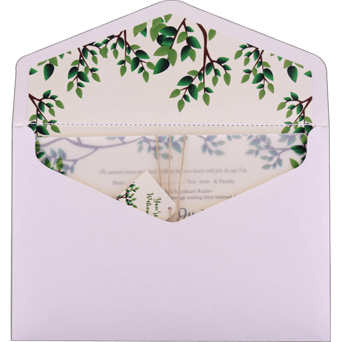 Custom Wedding Cards - CZC-9484 - 4