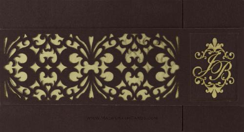 Luxury Wedding Cards - LWC-9007
