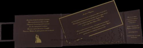 Luxury Wedding Cards - LWC-9007 - 4