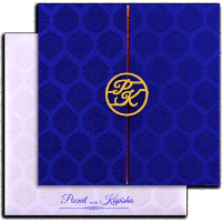 Custom Wedding Cards - CZC-9436