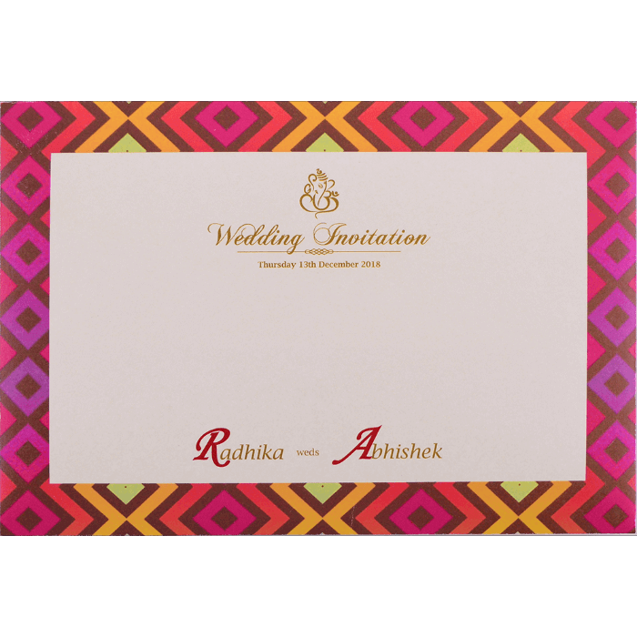Custom Wedding Cards - CZC-9437 - 4