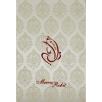 Hindu Wedding Cards - HWC-9109CG