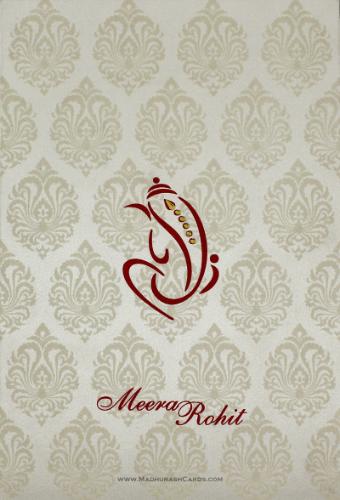 Hindu Wedding Cards - HWC-9109CG