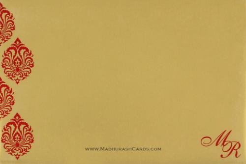 Hindu Wedding Cards - HWC-9109CG - 3