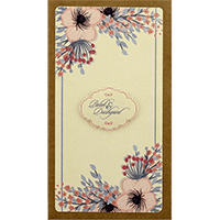 Kraft Wedding Invitations - KWC-8829