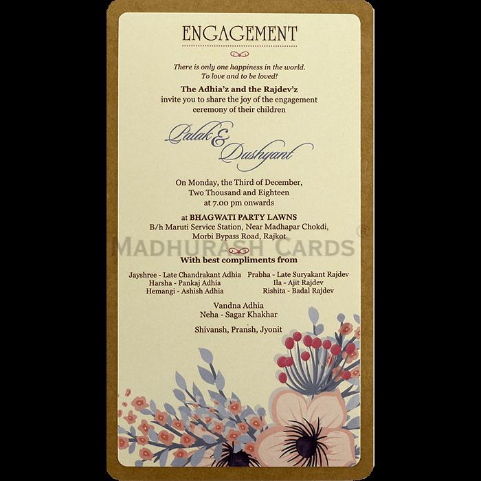Kraft Wedding Invitations - KWC-8829 - 5