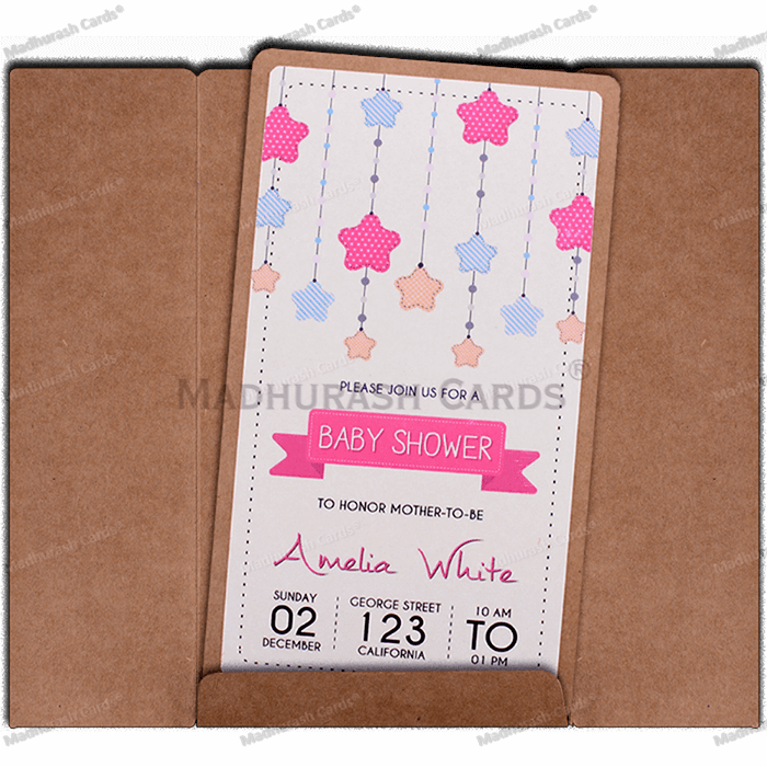Baby Shower Invitations - BSI-8826 - 4