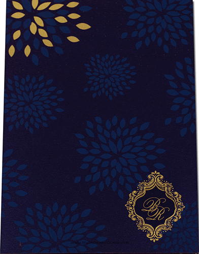 Hindu Wedding Cards - HWC-9042BG