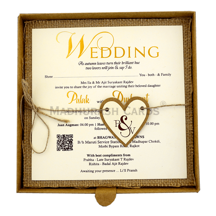 Custom Wedding Cards - CZC-9405 - 4