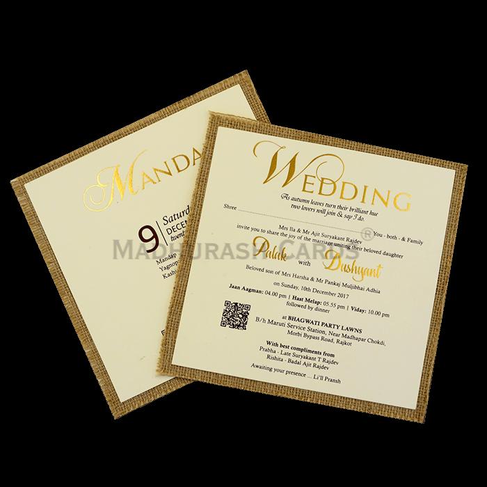 Custom Wedding Cards - CZC-9403 - 5