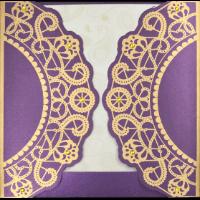Hindu Wedding Cards - HWC-9037VG