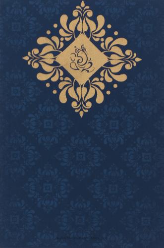 Hindu Wedding Cards - HWC-9034BG