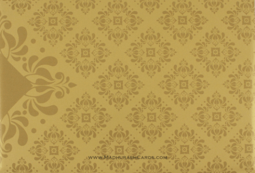 Hindu Wedding Cards - HWC-9034BG - 3